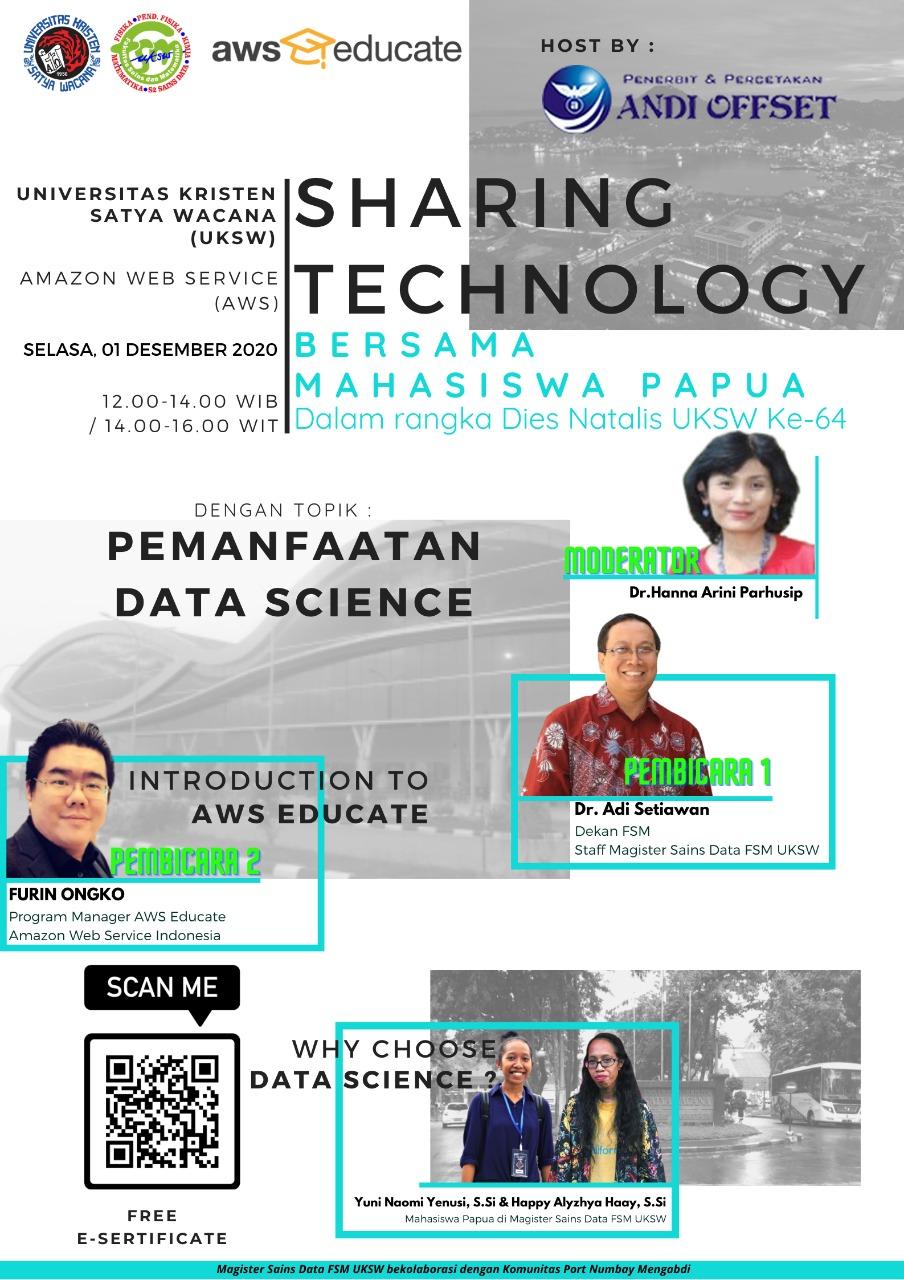 Sharing Technology Bersama Mahasiswa Papua