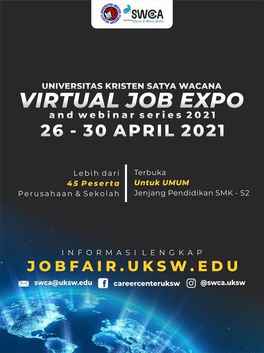 UKSW Virtual Job Expo and Webinar Series 2021