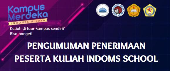 Penerimaan Peserta Kuliah IndoMS-School